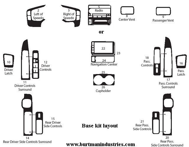 2008 honda pilot window diagram