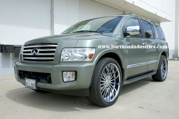 Some New Pics Of The Custom Forged Wheels We Added Nissan Armada