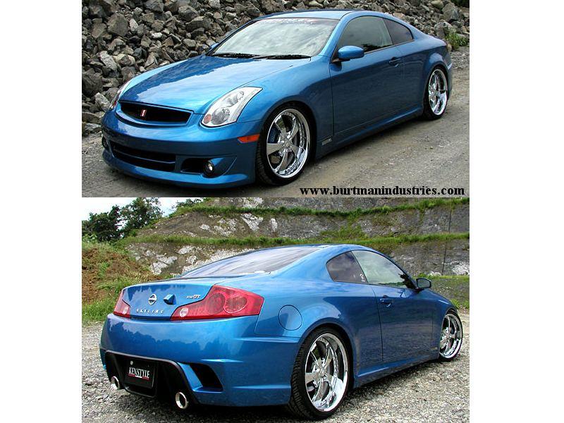 Infiniti G35 Blue. 2003 - 2006, Infiniti G35