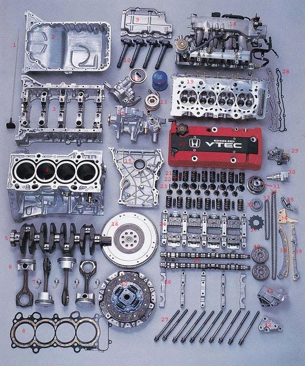 Engine Anatomy - S2KI Honda S2000 Forums